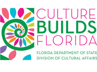 Graphic of Culture Builds Florida Logo