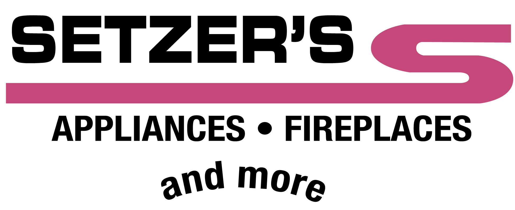 Setzer's Appliances fireplaces and more logo