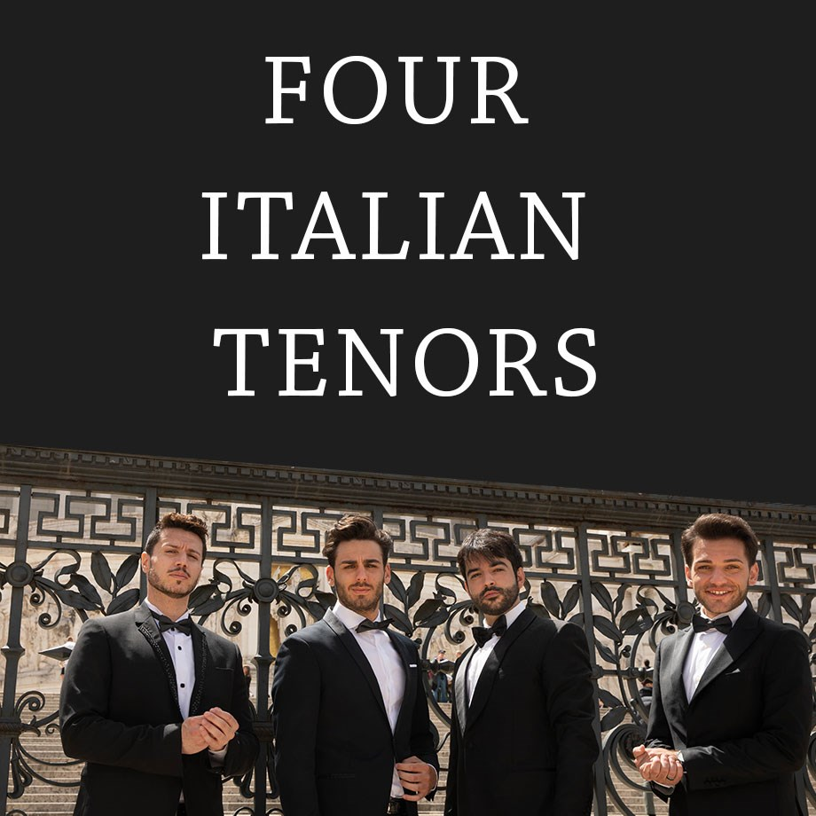 Four Italian Tenors logo - Dec. 5, 2019