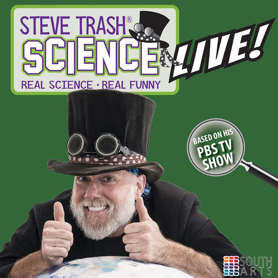 Steve Trash Science Live, Jan.12 at 2pm