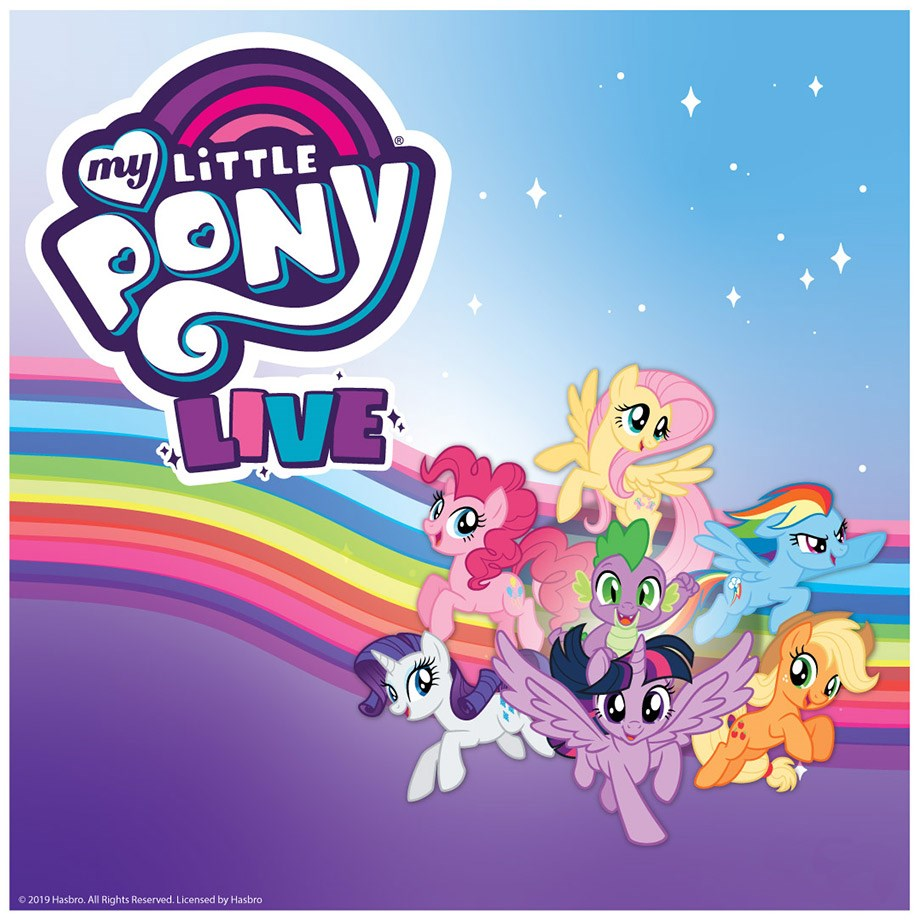 My Little Pony Live on May 2 at 3pm