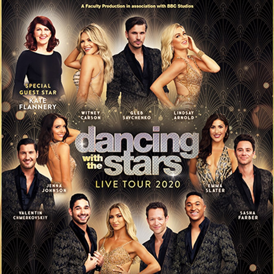 Dancing with the Stars: Live! on February 26 at 7:30pm