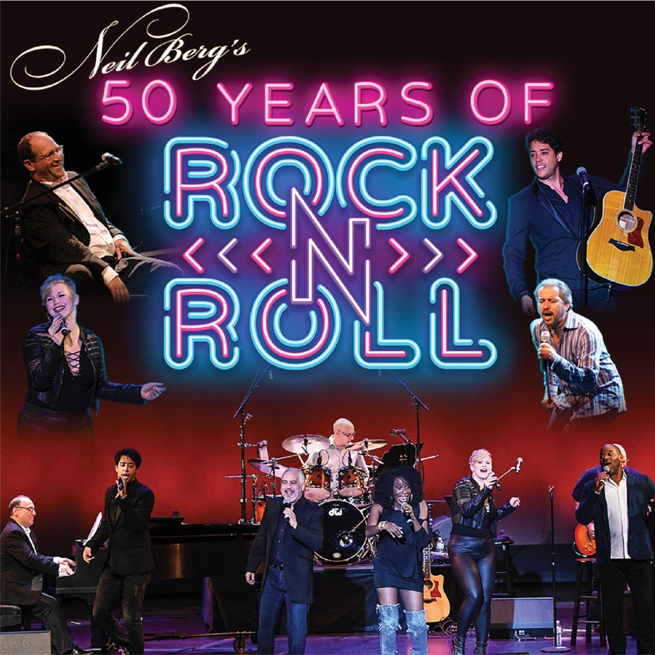 Neil Berg's 50 Years of Rock and Roll - March 3, 2021 at 7:30 p.m.