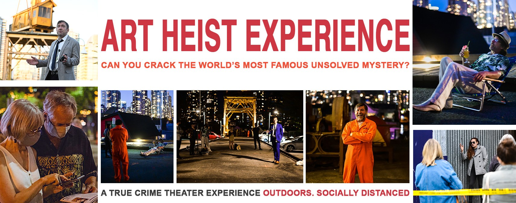 Art Heist Experience, April 13-May 2, 2021